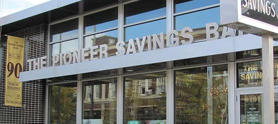 The Pioneer Savings Bank